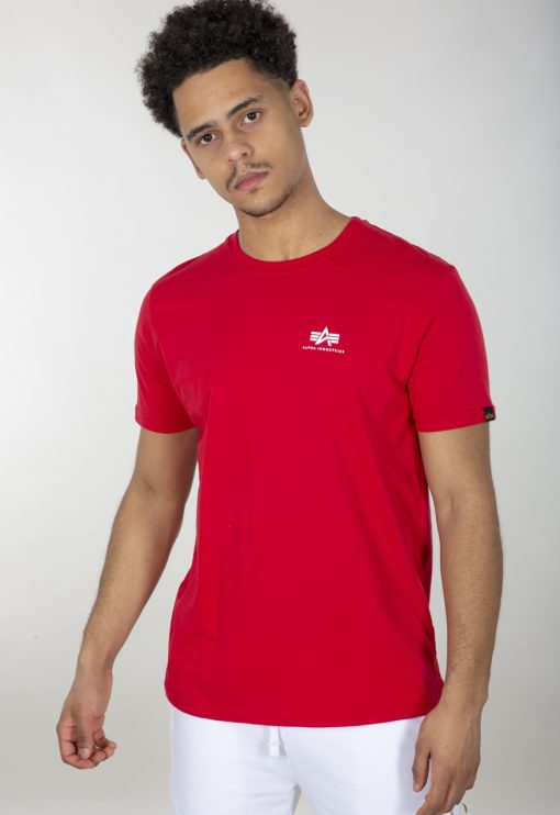 Alpha Industries Backprint T Red