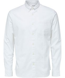 Selected Homme Rick Flex Shirt White
