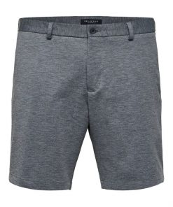 Selected Homme Aiden Shorts Medium Grey Melange