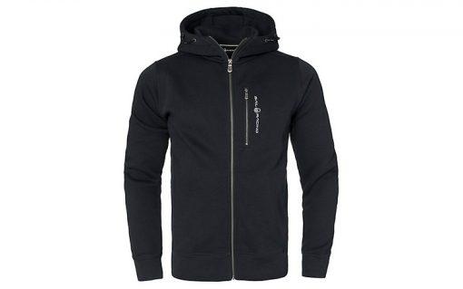 Sail Racing Bowman Zip Hood Carbon Black