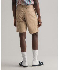Gant Relaxed Summer Shorts Dark Khaki