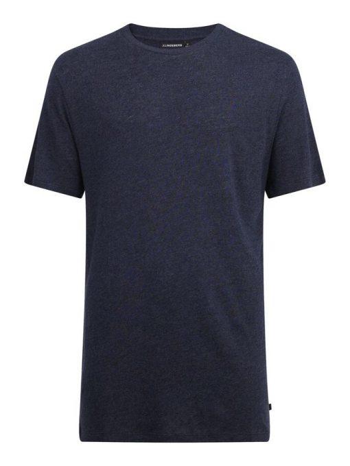 J.Lindeberg Como Neps T-shirt Navy