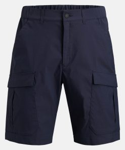 Peak Performance Moment Cargo Short Blue Shadow
