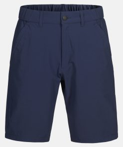 Peak Performance Moment Shorts Men Blue Shadow
