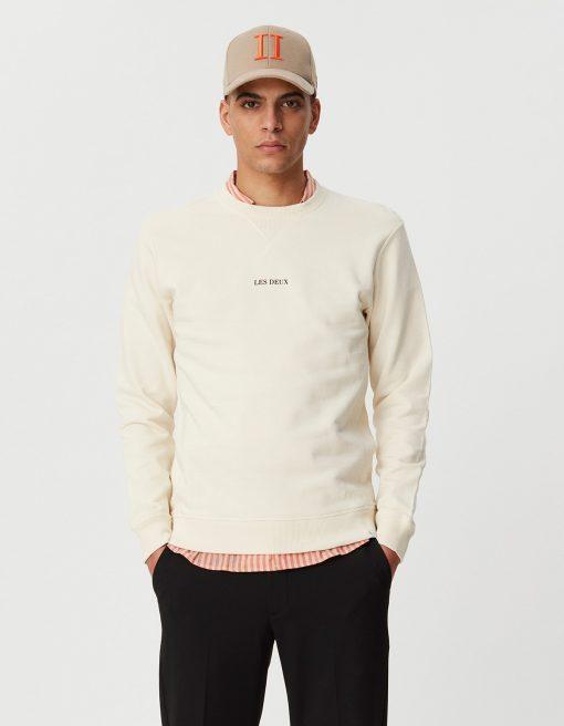 Les Deux Lens sweatshirt Ivory