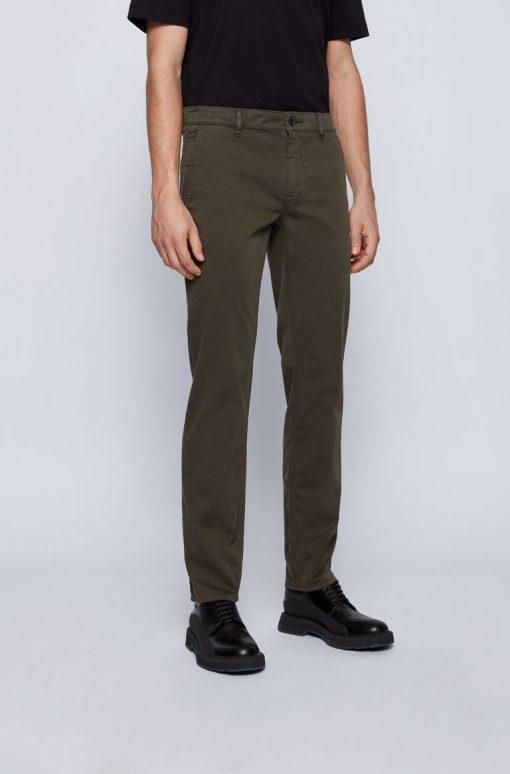 Hugo Boss Schino-Slim D Trousers Dark Green