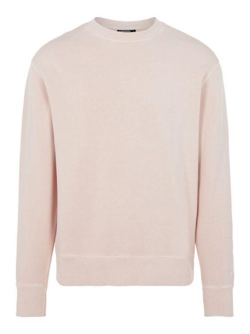 J.Lindeberg Hurl Garment Dye Sweatshirt Claystone