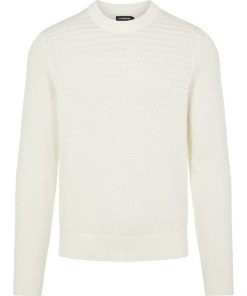 J.Lindeberg Soma Structure Sweater Cloud White