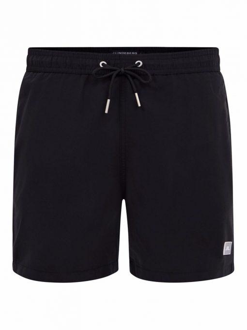 J.Lindeberg Banks Solid Swim Trunks Black