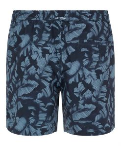 J.Lindeberg Banks Pattern Swim Trunks Navy