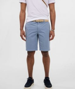 J.Lindeberg Nathan Super Satin Shorts Steel Blue