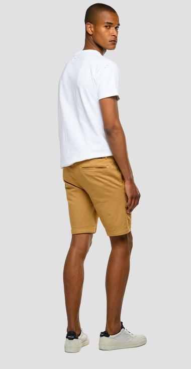 Replay Benni Chino Shorts Havana