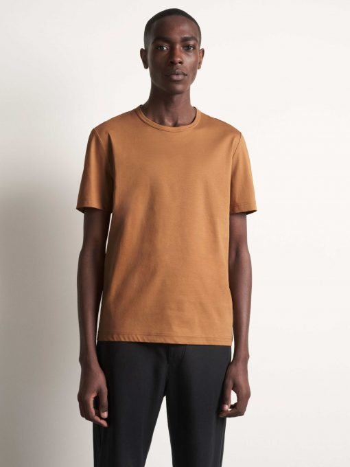 Tiger of Sweden Olaf T-shirt Tobacco Brown