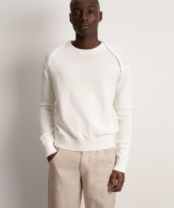 Tiger of Sweden Janos Pullover Pure White