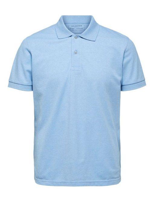 Selected Homme Neo Polo Shirt Ballad Blue