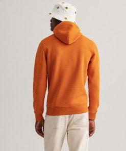 Gant Archive Shield Hoodie Savannah Orange