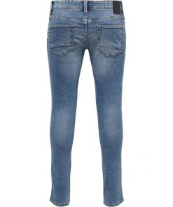 Only & Sons Loom Slim Fit Blue Denim