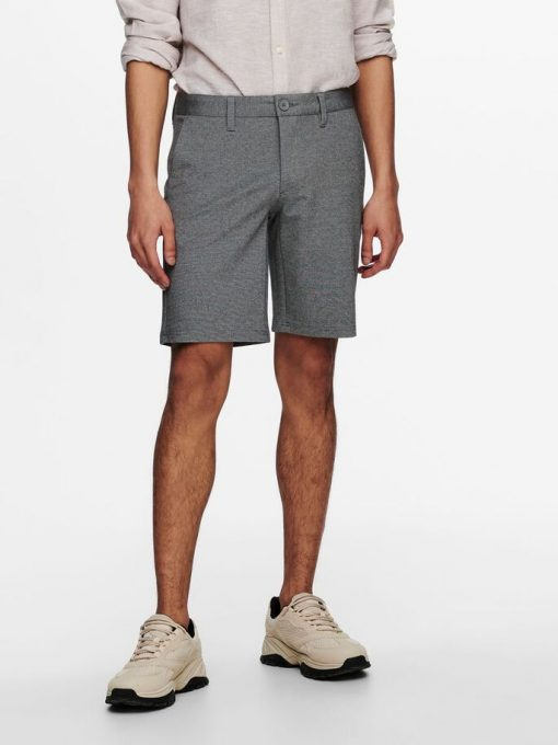 Only & Sons Mark Shorts Grey