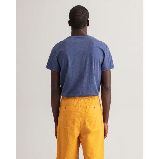 Gant The Original T-Shirt Dk Jeansblue Melange