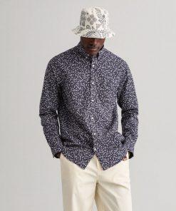 Gant Seashell Regular Fit Shirt Evening Blue