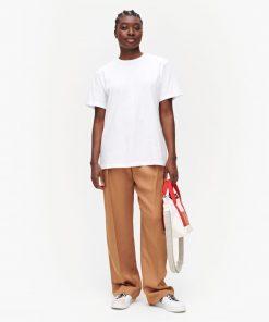 Marimekko Pakkas Solid T-shirt White
