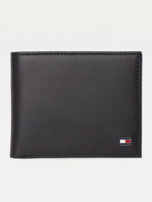 Tommy Hilfiger Small Eton Bifold Wallet Black