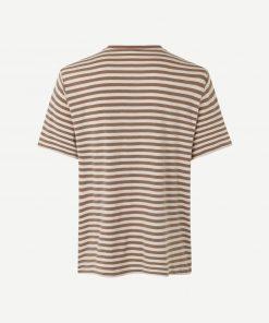 Samsoe & Samsoe Ataro T-shirt Caribou Stripe