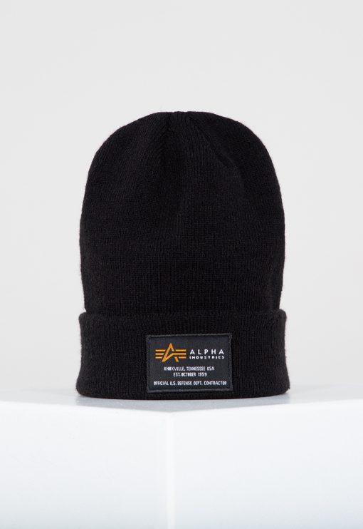 Alpha Industries Crew Beanie Black