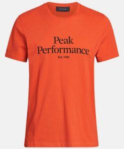 Peak Performance Original Tee Men Go For Orange