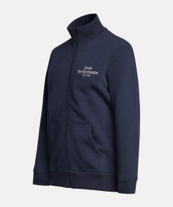 Peak Performance Original Zip Jacket Men Blue Shadow