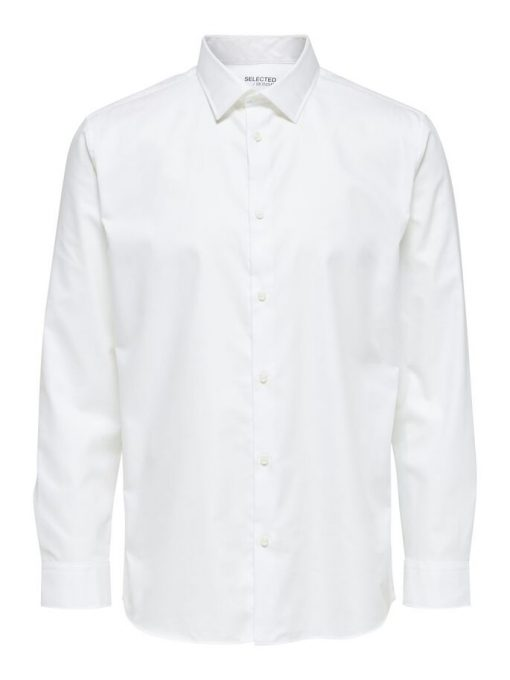 Selected Homme soft Formal Shirt Bright White