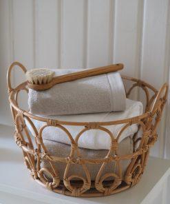 Balmuir Lugano Towel 70 x 140 Light Grey