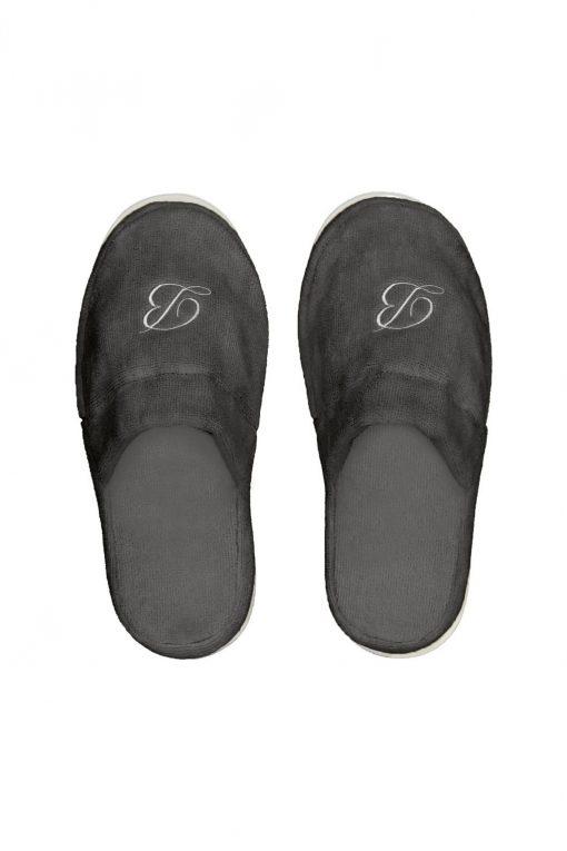 Balmuir Portofino Slippers Dark Grey
