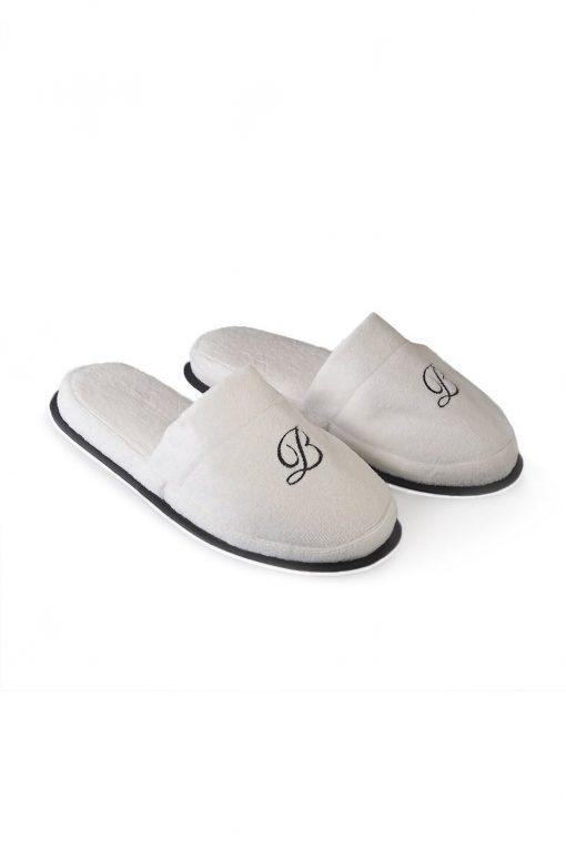 Balmuir Portofino Slippers White