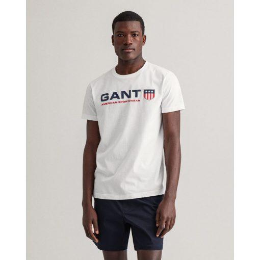 Gant Retro Shield T-shirt White