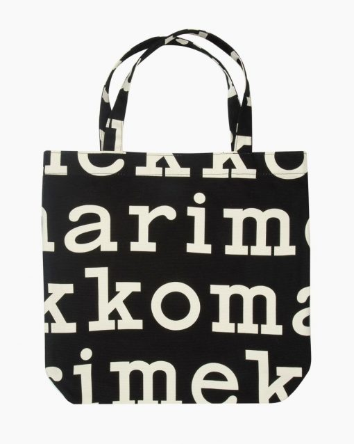 Marimekko Notko Logo Bag Black