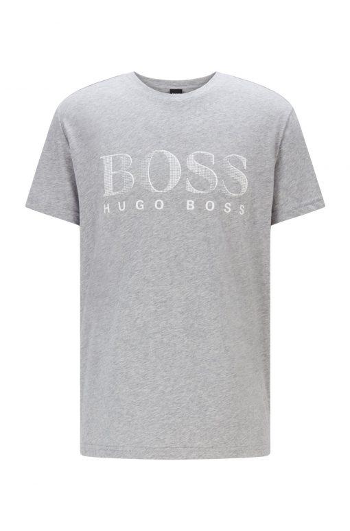 Hugo Boss Sun Proof 50+ T-shirt Silver