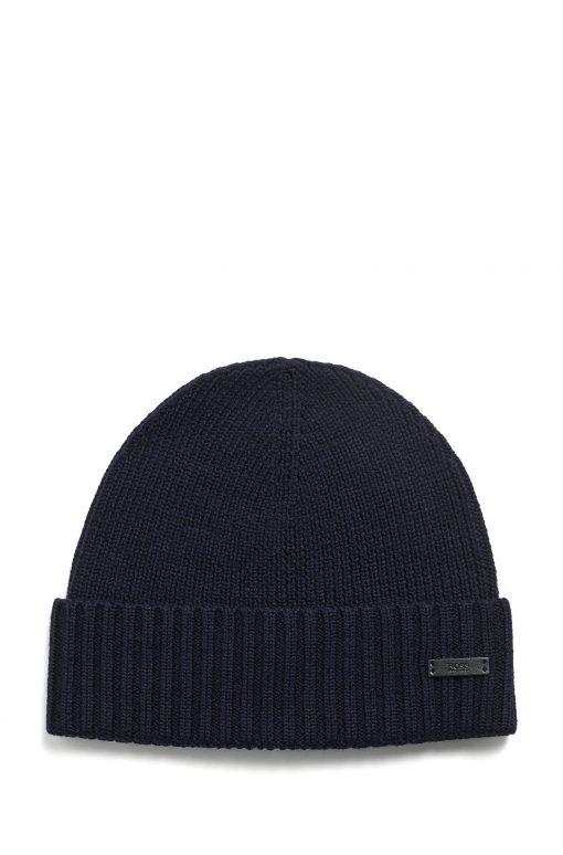 Hugo Boss Fati-N Hat Dark Blue