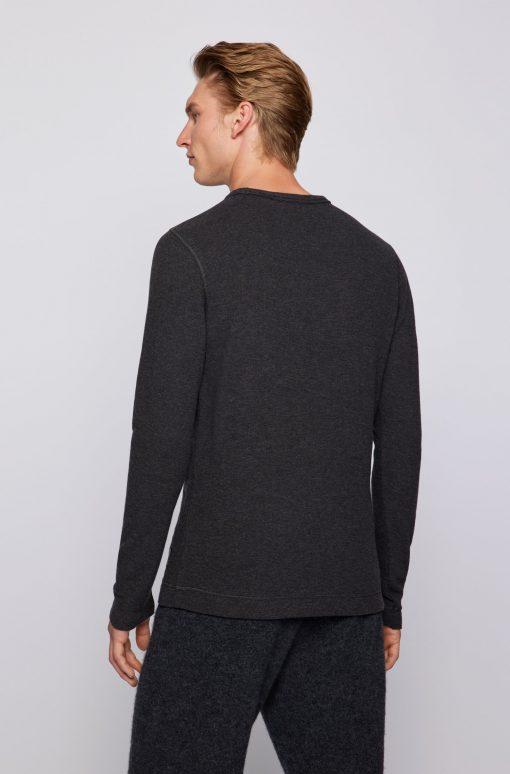 Hugo Boss Tempest Long-Sleeve T-Shirt Black