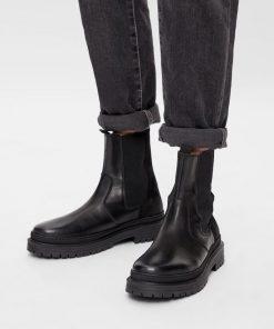Bianco Biadaxx Chelsea Boot Black