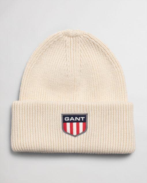 Gant Retro Shield Beanie Cream