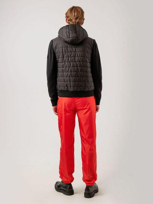 J.Lindeberg Pierre Knitted Hybrid Jacket Black