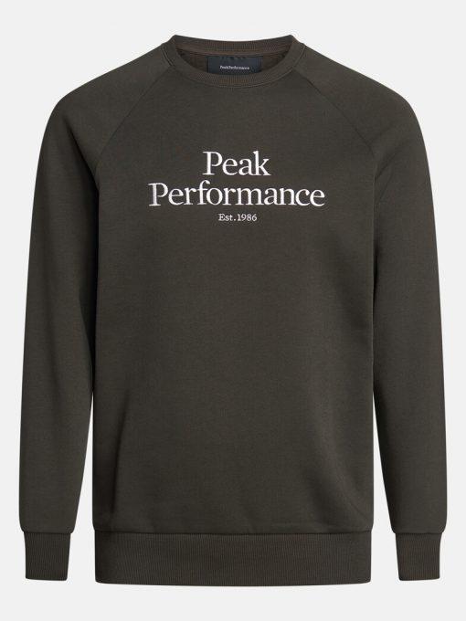 Peak Performance Original Crew Men Olive Extreme