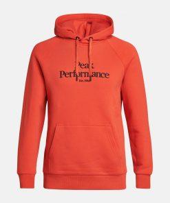 Peak Performance Original Hood Men Go For Orange