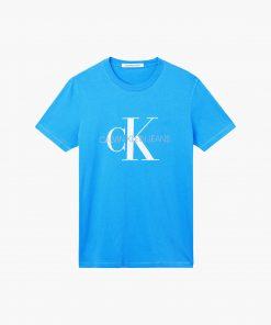 Calvin Klein Monogram Tee Mesmerizing Blue