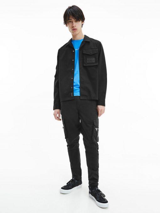Calvin Klein Utility Overshirt Black