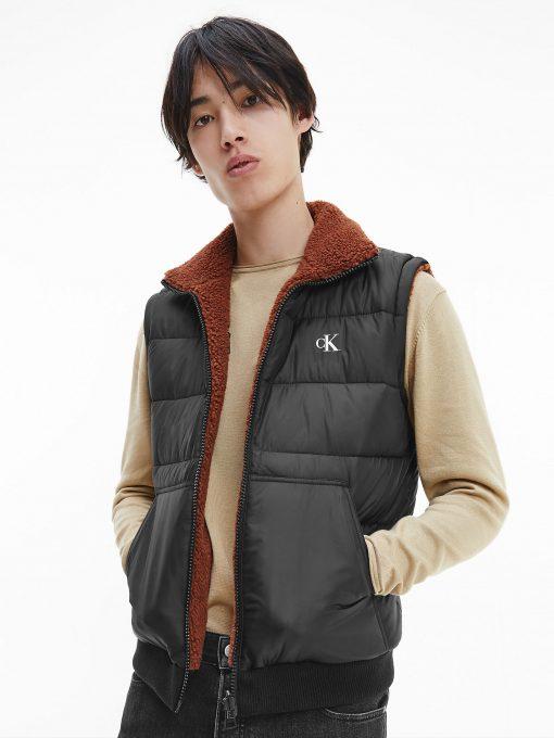 Calvin Klein 3-in-1 Reversible Jacket Black/Tortoise shell
