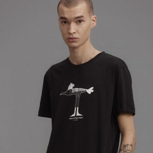 Makia Bird T-shirt Black