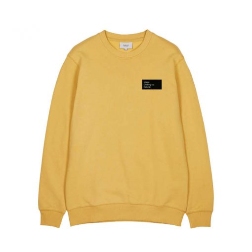 Makia Pontus Light Sweatshirt Ochre