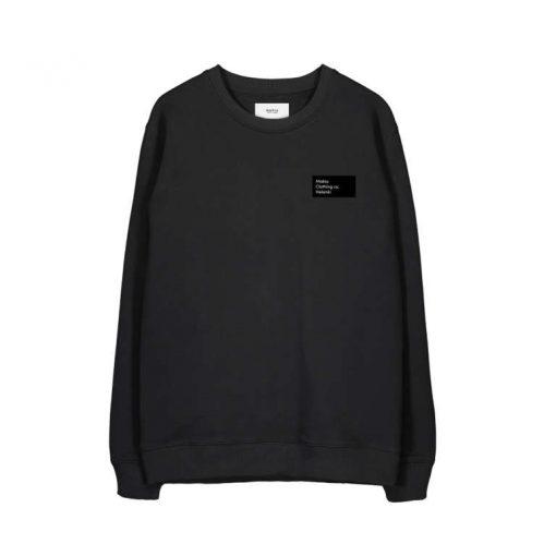 Makia Pontus Light Sweatshirt Black